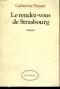 """Couverture du livre : """"Le rendez-vous de Strasbourg"""""""