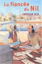 """Couverture du livre : """"La fiancée du Nil"""""""