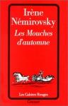 """Couverture du livre : """"Les mouches d'automne"""""""
