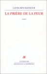 """Couverture du livre : """"La prière de la peur"""""""