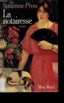 """Couverture du livre : """"La notairesse"""""""