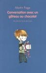"""Couverture du livre : """"Conversation avec un gâteau au chocolat"""""""