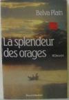 """Couverture du livre : """"La splendeur des orages"""""""
