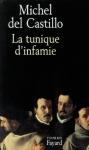 """Couverture du livre : """"La tunique d'infamie"""""""