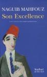 """Couverture du livre : """"Son excellence"""""""