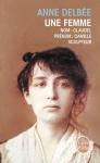 """Couverture du livre : """"Une femme"""""""
