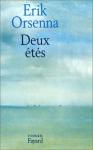 """Couverture du livre : """"Deux étés"""""""