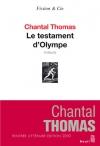 """Couverture du livre : """"Le testament d'Olympe"""""""