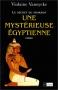 """Couverture du livre : """"Une mystérieuse Égyptienne"""""""