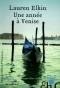 """Couverture du livre : """"Une année à Venise"""""""