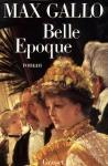 """Couverture du livre : """"Belle époque"""""""