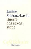 """Couverture du livre : """"Guerre des sexes"""""""
