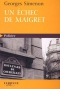 """Couverture du livre : """"Un échec de Maigret"""""""