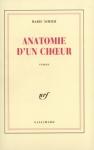 """Couverture du livre : """"Anatomie d'un choeur"""""""