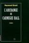 """Couverture du livre : """"L'archange de Carnegie Hall"""""""