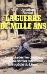 """Couverture du livre : """"La guerre de mille ans"""""""