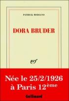 """Couverture du livre : """"Dora Bruder"""""""