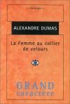 """Couverture du livre : """"La femme au collier de velours"""""""