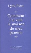 """Couverture du livre : """"Comment j'ai vidé la maison de mes parents"""""""