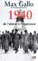 """Couverture du livre : """"1940, de l'abîme à l'espérance"""""""