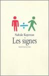 """Couverture du livre : """"Les signes"""""""