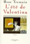 """Couverture du livre : """"L'été de Valentina"""""""