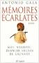 """Couverture du livre : """"Mémoires écarlates"""""""