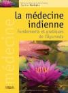 """Couverture du livre : """"La médecine indienne"""""""