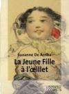 """Couverture du livre : """"La jeune fille à l'oeillet"""""""