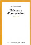 """Couverture du livre : """"Naissance d'une passion"""""""