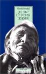 """Couverture du livre : """"Que sont les Indiens devenus ?"""""""