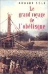 """Couverture du livre : """"Le grand voyage de l'Obélisque"""""""