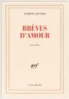 """Couverture du livre : """"Brèves d'amour"""""""