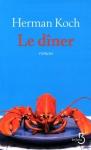 """Couverture du livre : """"Le dîner"""""""