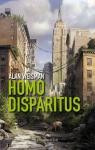 """Couverture du livre : """"Homo disparitus"""""""