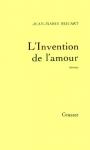 """Couverture du livre : """"L'invention de l'amour"""""""