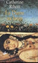 """Couverture du livre : """"La dame au loup"""""""