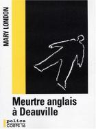 """Couverture du livre : """"Meurtre anglais à Deauville"""""""
