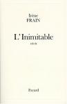 """Couverture du livre : """"L'inimitable"""""""