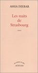 """Couverture du livre : """"Les nuits de Strasbourg"""""""
