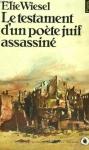 """Couverture du livre : """"Le testament d'un poète juif assassiné"""""""