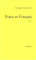 """Couverture du livre : """"Franz et François"""""""