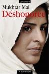 """Couverture du livre : """"Déshonorée"""""""