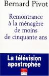 """Couverture du livre : """"Remontrance à la ménagère de moins de cinquante ans"""""""