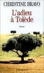 """Couverture du livre : """"L'adieu à Tolède"""""""