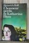 """Couverture du livre : """"L'honneur perdu de Katharina Blum"""""""