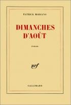"""Couverture du livre : """"Dimanches d'août"""""""