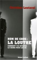 """Couverture du livre : """"Nom de code : la loutre"""""""
