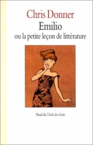 """Couverture du livre : """"Emilio ou la petite leçon de littérature"""""""