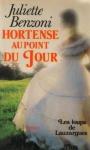 """Couverture du livre : """"Hortense au point du jour"""""""